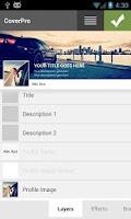 Screenshot of Template Kiwis - CoverPro
