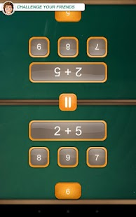 Math Duel: 2 Player Math Game- screenshot thumbnail