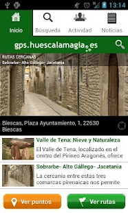 gps.huescalamagia.es- screenshot thumbnail