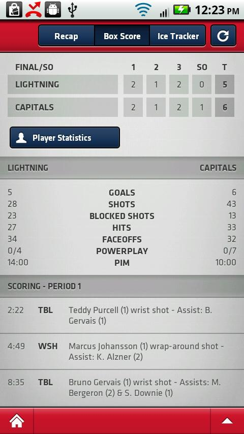 Caps Mobile App - screenshot