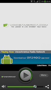 VoiceAmerica Radio Network - screenshot thumbnail