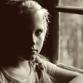 by Nadezda Tarasova - Babies & Children Child Portraits ( girl window light,  )