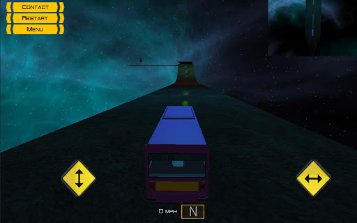 The impossible driving game