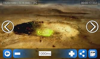 Screenshot of Freeze Frame  - Photo Grabber