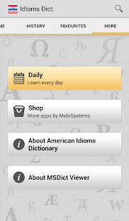 American Idioms Dictionary - screenshot thumbnail