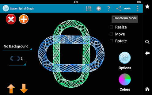 Super Spiral Graph - screenshot thumbnail