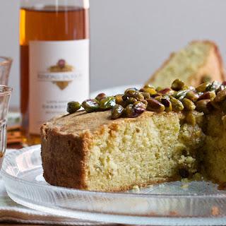 Pistachio, Olive Oil & Rosemary Cake