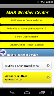 Monticello High Weather Center - screenshot thumbnail