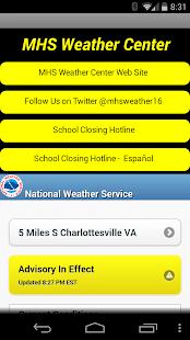 Monticello High Weather Center - screenshot thumbnail