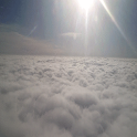Fly over the clouds Live WP icon