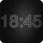 Metal Digital Clock