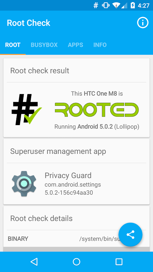 Root Check - screenshot