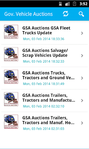 US Govt. GSA Vehicle Auctions