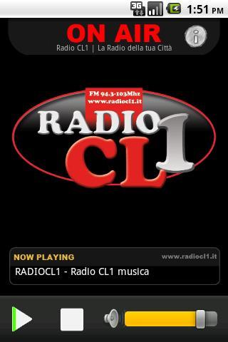 Radio CL1- screenshot