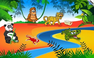Screenshot of Kids Animal Preschool Puzzle