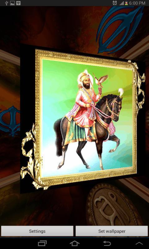 Guru Gobind Singh ji 3d Wallpapers 3d Guru Gobind Singh ji Lwp