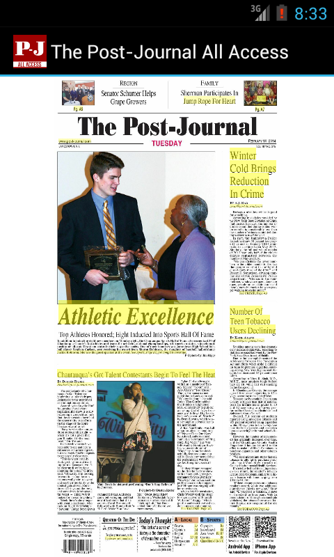 The Post-Journal All Access - screenshot