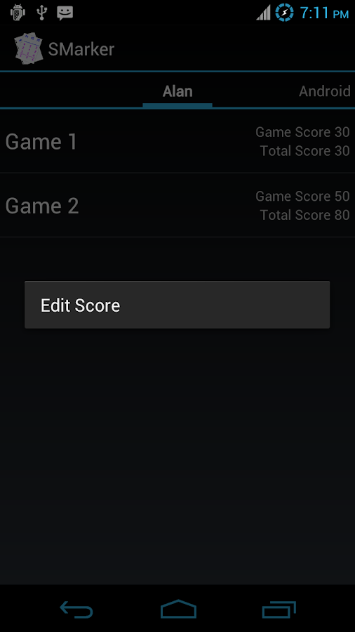SMarker (Scoreboard) - screenshot