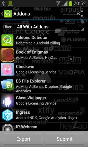 Addons Detector v3.34 [Donate]