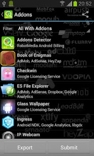 Addons Detector - screenshot thumbnail