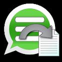 WhatsApp to Text icon