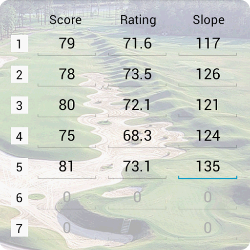 Golf Handicap Calculator LOGO-APP點子
