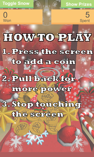 Christmas Coin Pusher