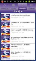 Screenshot of dm Slovensko