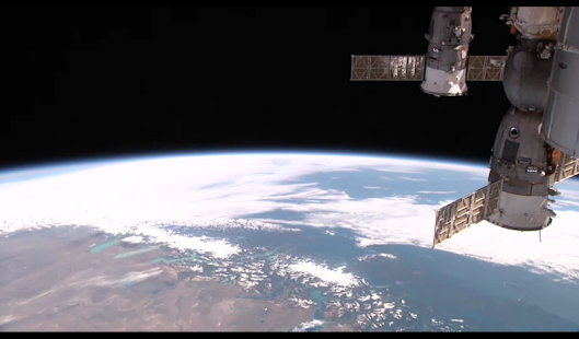 ISS onLive: Live Earth cameras - náhled