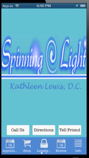 Spinning Light -Kathleen Lewis