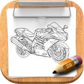 How To Draw Motorcycle