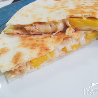Mango Chicken Quesadillas