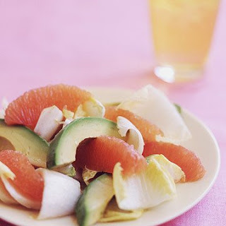 Endive, Avocado, and Red Grapefruit Salad