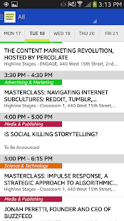 Social Media Week - screenshot thumbnail
