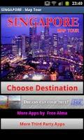 Screenshot of SINGAPORE Map Tour