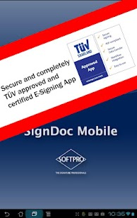 SignDoc Mobile- screenshot thumbnail
