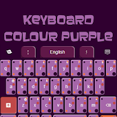 Keyboard Colour Purple