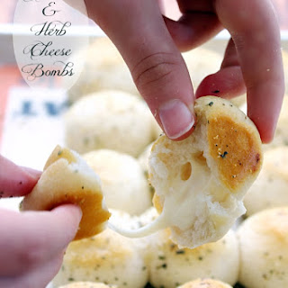 Garlic & Herb Cheese Bombs.