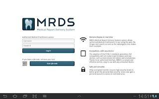 Screenshot of MRDS