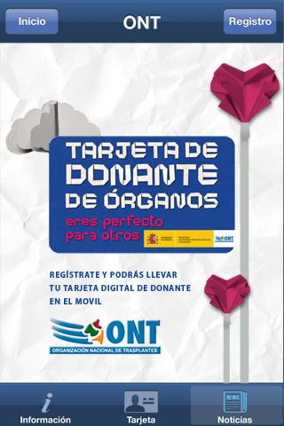 Soy Donante - screenshot