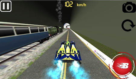 VR Car Vs Train 1.0 screenshot 6171