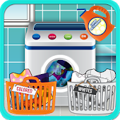 Washing Clothes Kids Games