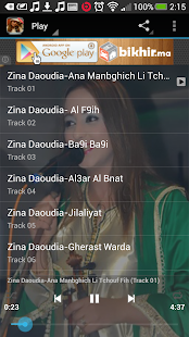 Zina Daoudia Mp3 - screenshot thumbnail