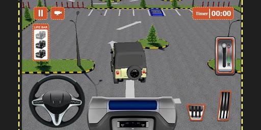 4×4越野停车模拟器