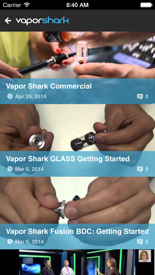 Vapor Shark Mobile - screenshot