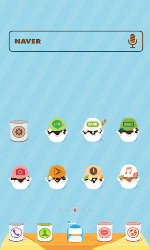 Shaved Ice dodol theme