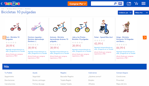"Toys""R""Us España screenshot 5"