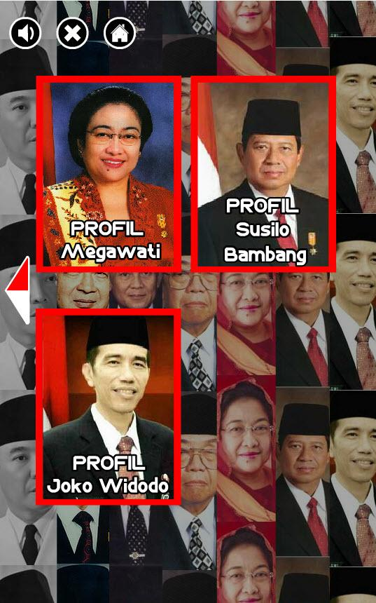 Profil Presiden Indonesia- screenshot
