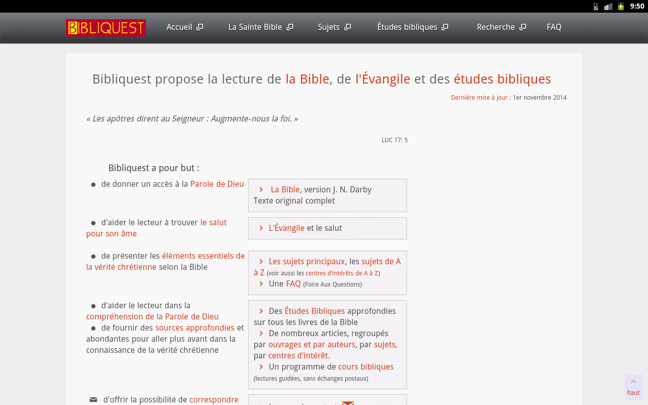 Bibliquest- screenshot