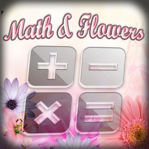 Math and Flowers LOGO-APP點子